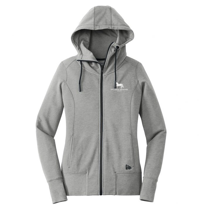 New Era ® Ladies Tri-Blend Fleece Full-Zip Hoodie